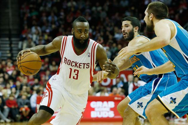 Breaking Down How to Stop James Harden's Eurostep