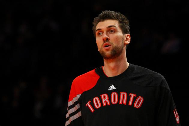 Toronto Raptors Fans Will Have No Problem Waiving Bon Voyage to Andrea Bargnani