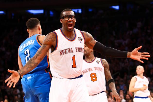 Amar'e Stoudemire's Toxic Contract Will Prevent NY Knicks from Reaching Ceiling