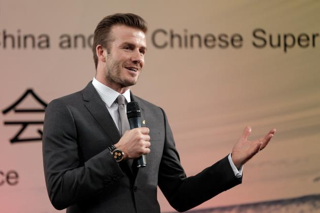 David Beckham Begins China Tour: How Can Becks Help Chinese Football?