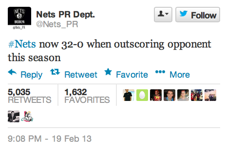 Brooklyn Nets Shut Down Their Amazing PR Twitter Account