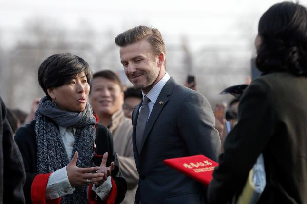 David Beckham: Can He Do for Chinese Football What He Did for the MLS?