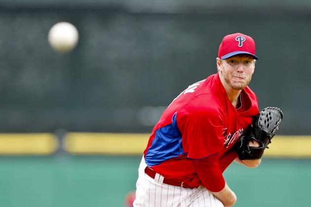 Phillies' Roy Halladay Says He's on the Mend After Stomach Bug