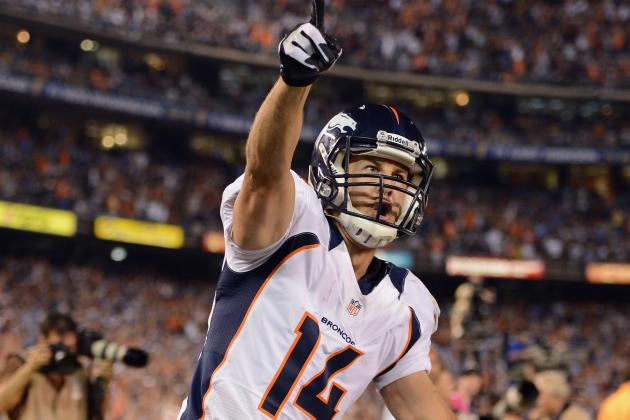 Wes Welker Signing by Broncos Likely Leads Brandon Stokley to the Door