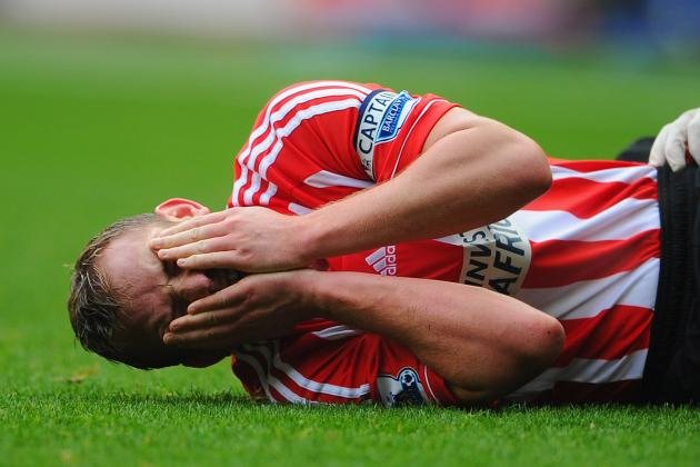 Sunderland May Not Be Able to Call on Captain Lee Cattermole Again This Season