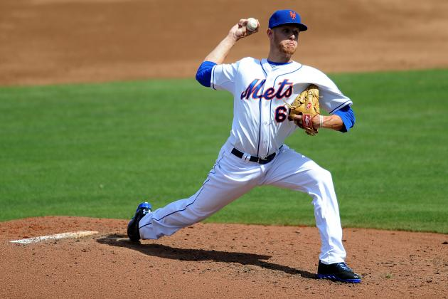 Zack Wheeler Pitches in Game for First Time Since Oblique Strain