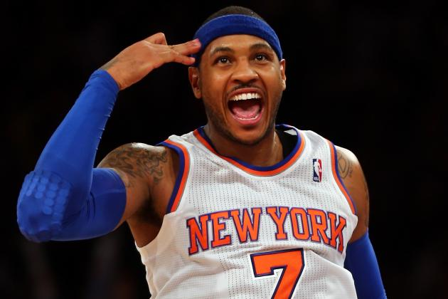 Knicks Confident Melo Is in the Clear