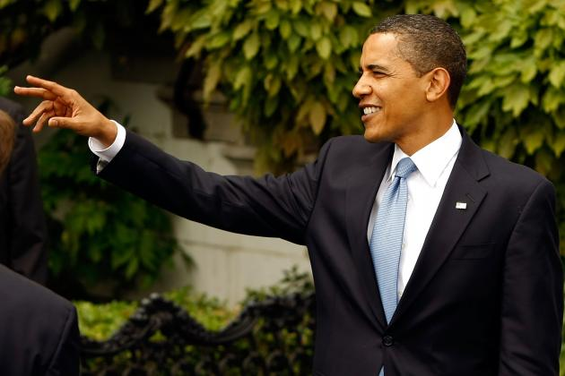 WATCH: Obama Makes March Madness Picks