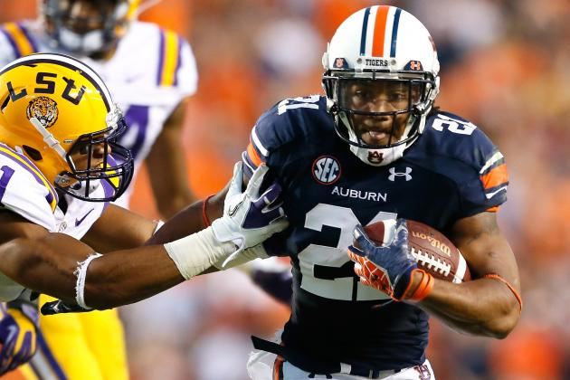 Auburn Football: Sizing Up the Tigers' Spring Running Back Battle