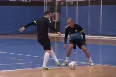 Video: Barcelona Midfielder Andres Iniesta Stars in Nike Commercial