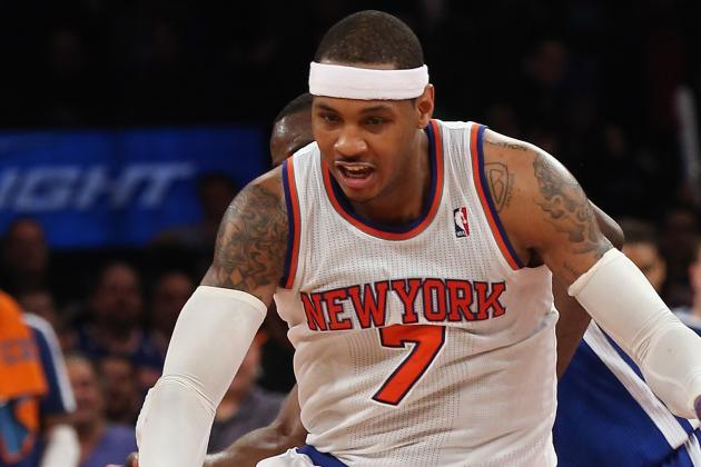 Carmelo Anthony Says He's 'Ready to Play' Tonight vs. Magic