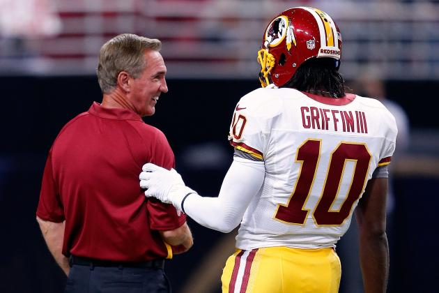 On How Mike Shanahan Plans to Better Protect Robert Griffin III