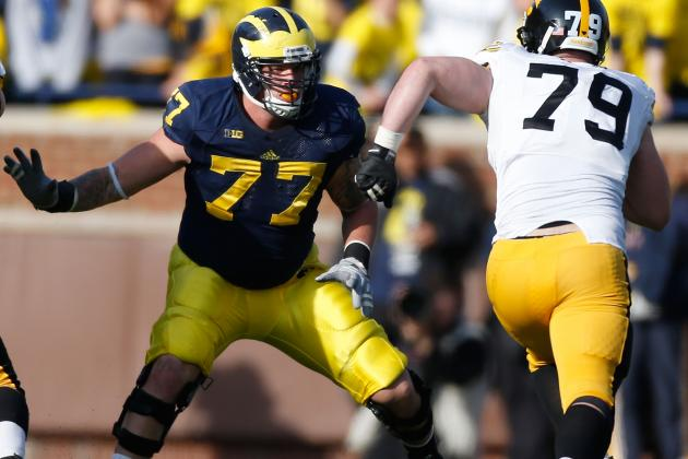 Taylor Lewan Is a Happy 'Idiot' at U-M