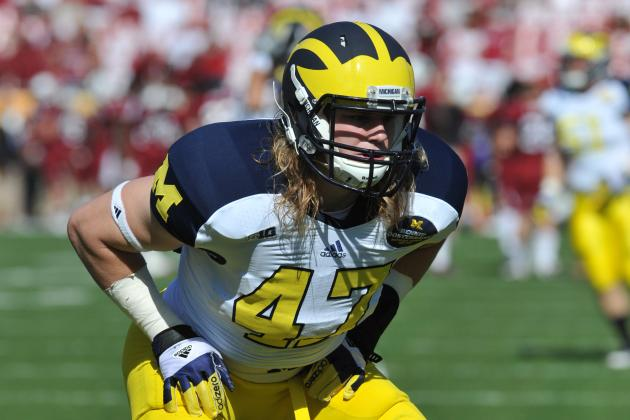 U-M Linebacker Jake Ryan out Indefinitely with Torn ACL