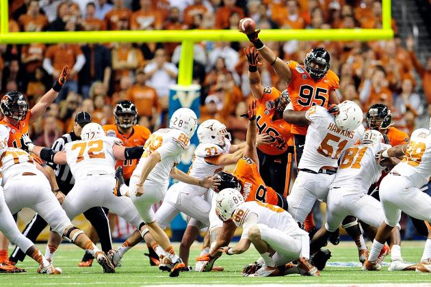 Horns Work to Overcome Mediocre Kicking Game