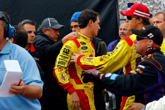 Joey Logano, Denny Hamlin Continue War on Twitter After Wreck at Bristol