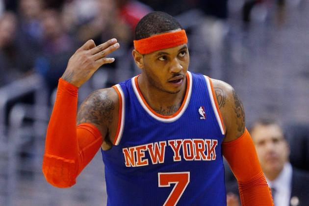 Carmelo Anthony Expects to Return to Knicks' Lineup