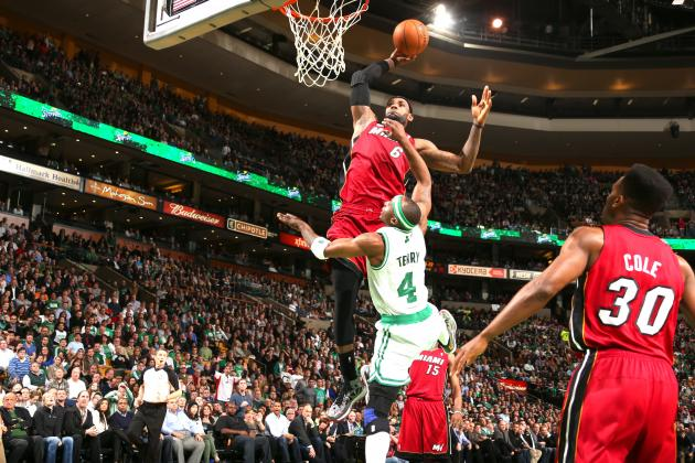 LeBron James Savors Jason Terry Dunk, Talks Smack After Sensational Slam