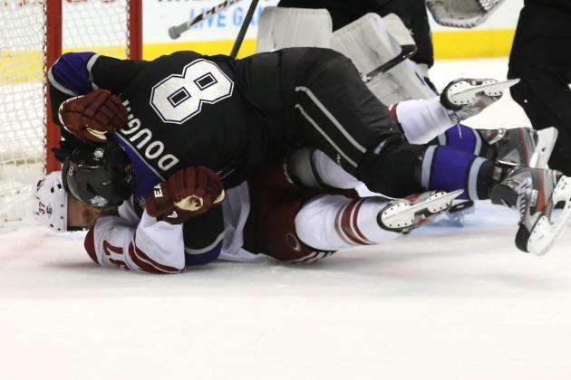 Drew Doughty Believes Phoenix Coyotes Are Whiners on a Canucks Level
