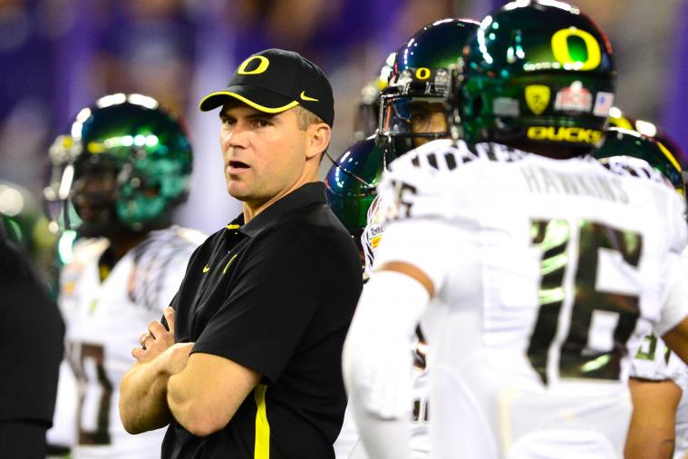Oregon Football: What Will Define Success for Mark Helfrich in 2013?