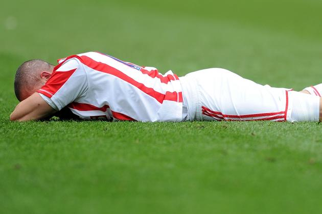 Stoke City Striker Jon Walters Ready for Action After Ankle Injury Scare