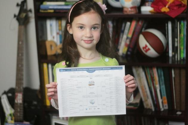 March Madness 2013: Is Your NCAA Bracket Better Than a 5-Year-Old's?