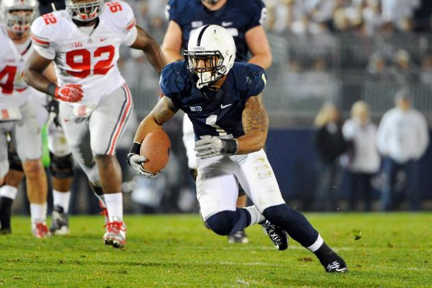 Penn State's Bill O'Brien Expects a Highly Competitive Backfield This Spring