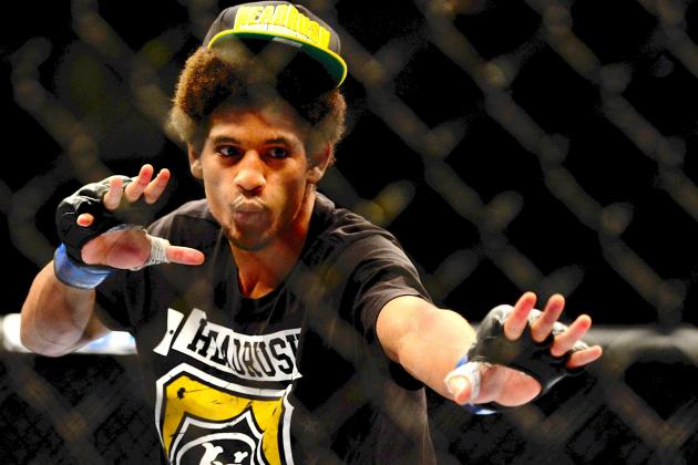 UFC on Fuel 8: Alex Caceres and Riki Fukuda Fail Drug Tests, Fukuda Cut from UFC