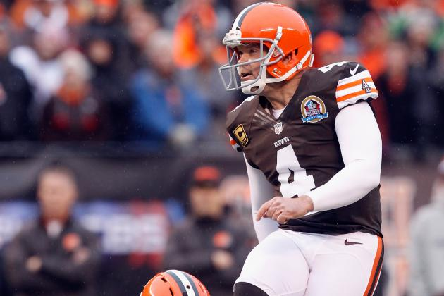 Kicker Options for the Cleveland Browns Now that Phil Dawson Has Moved On