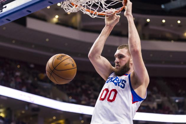 Spencer Hawes Starting to Improve at Center Position