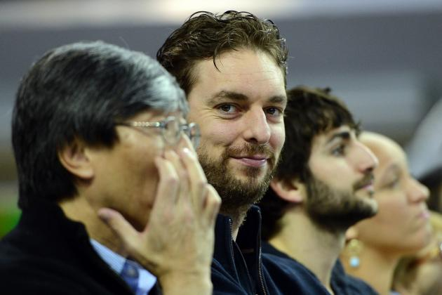 Pau Gasol's Logo Drawings Are as Adorable as Lakers Big Man