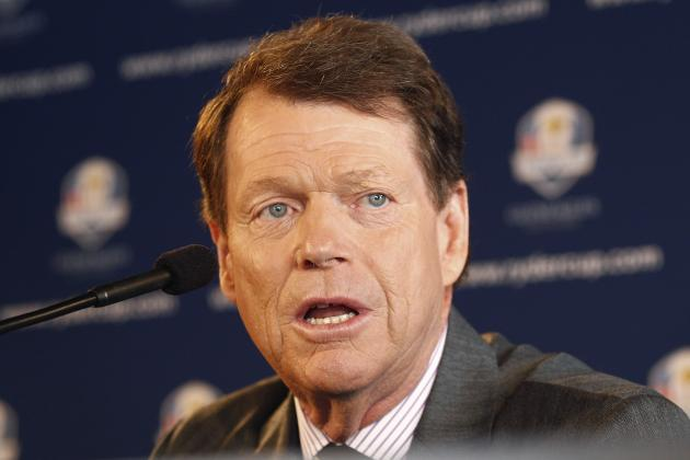 Tom Watson to Award Three Captain's Picks for 2014 U.S. Ryder Cup Team