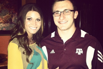 Manziel's Girlfriend Is the 5th Most Popular Girlfriend in CFB