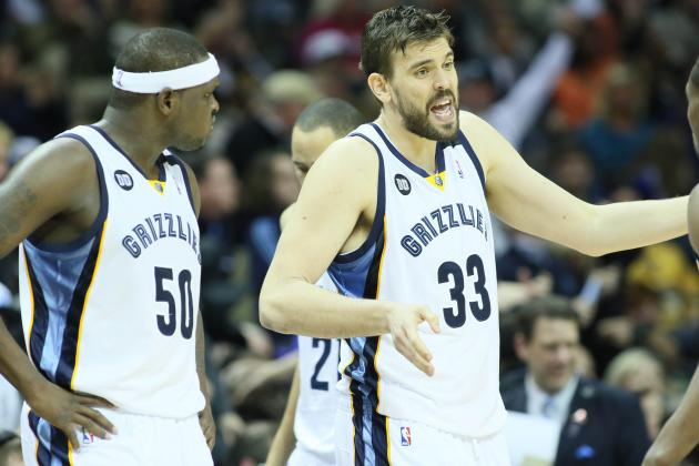 'In the Mud' with Zach Randolph and Marc Gasol on the Grizzlies' Rise