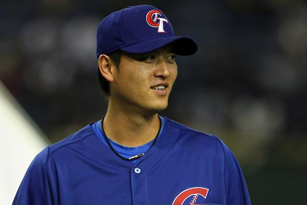 Chien-Ming Wang Works out for Yankees