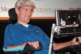 Steve Gleason Helps Kickoff New Orleans Entrepreneur Week