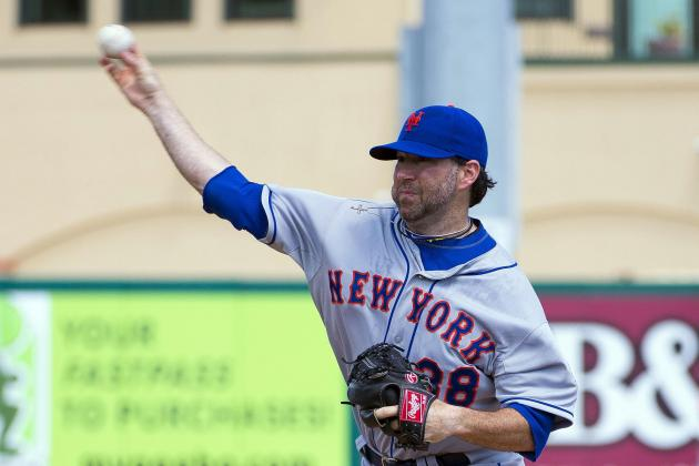 Mets' Shaun Marcum out After Receiving Cortisone Shot in Shoulder