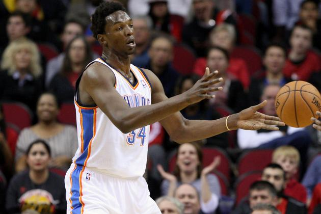 Hasheem Thabeet (Back) Active Tonight