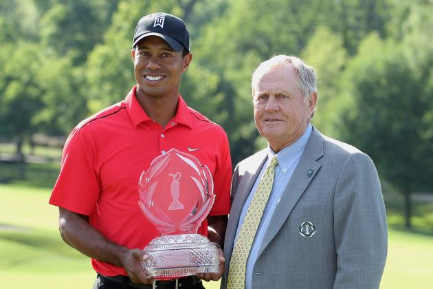 Tiger vs. Jack : Tale of the Tape