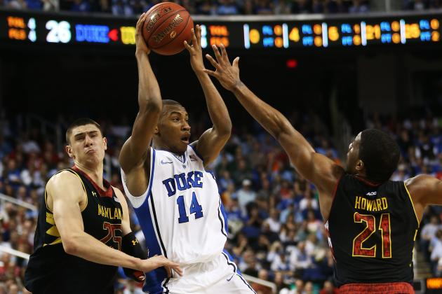Duke Basketball: Rasheed Sulaimon Should Start Over Tyler Thornton