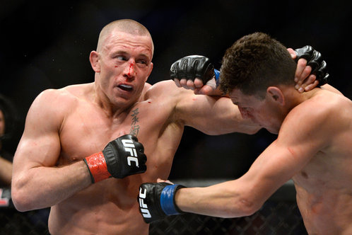 GSP Fought in UFC 158 with an Injured Achilles