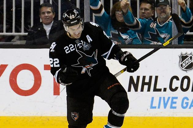 Sharks' Dan Boyle on Rangers' Radar