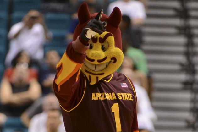 ASU's New Sparky Gets Torched