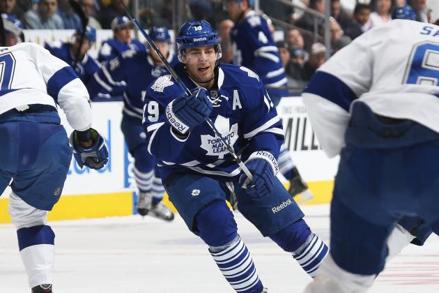 Maple Leafs Back in Win Column with Victory over Lightning