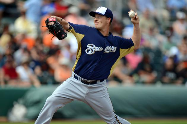 Chris Narveson Gives Brewers Second Straight Great Start