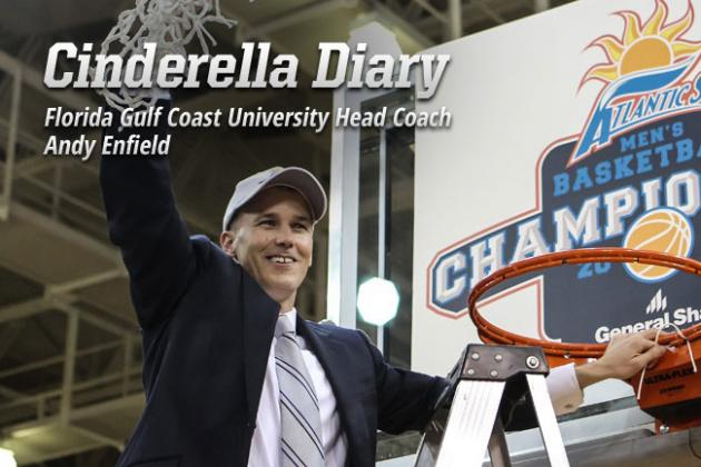 Cinderella Diary: Behind the Scenes with Florida Gulf Coast Coach Andy Enfield