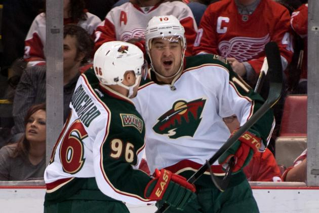 Wild 4, Red Wings 2