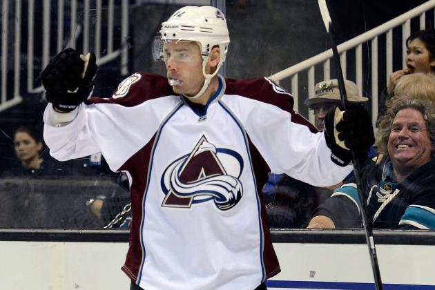 Kobasew, Avalanche Rally Past Stars, Snap Skid