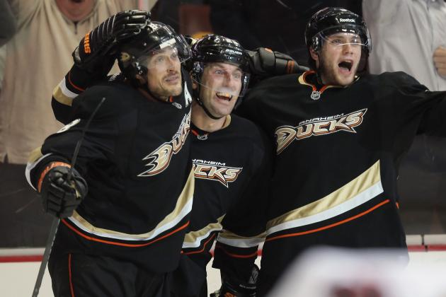 Ducks Use Another Third Period Rally to Beat Chicago
