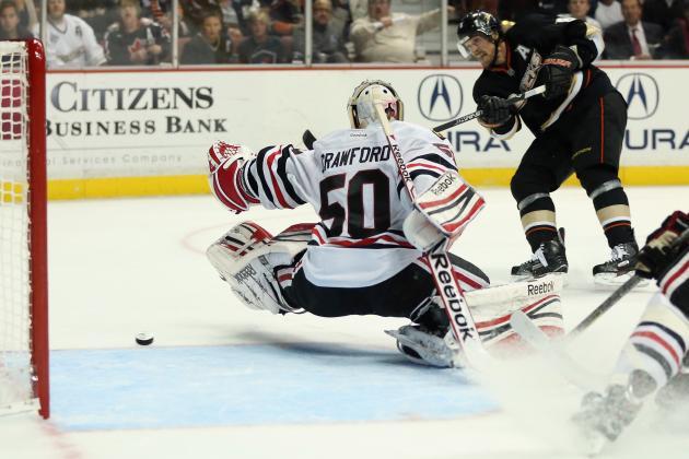 Ducks Score Three Unanswered Third-Period Goals to Top Blackhawks 4-2